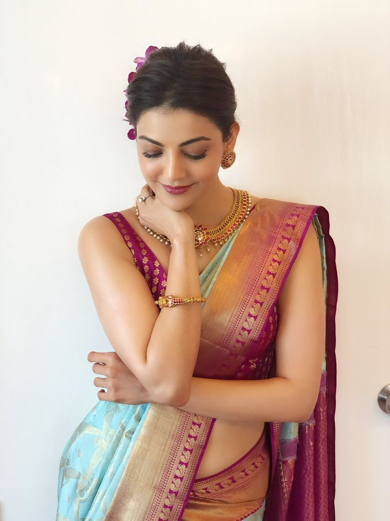 kajal-aggarwal-latest-pattu-saree11