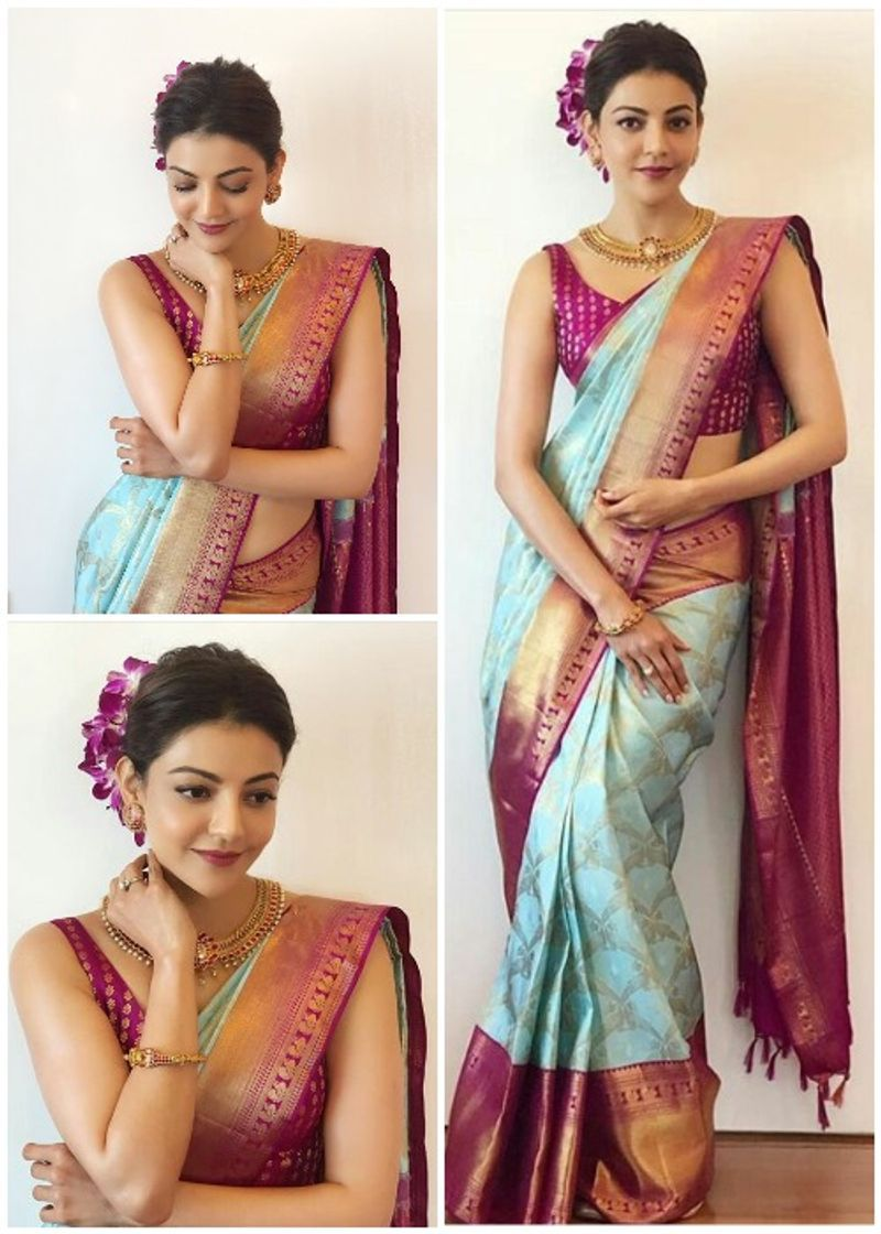 kajal-aggarwal-latest-pattu-saree14