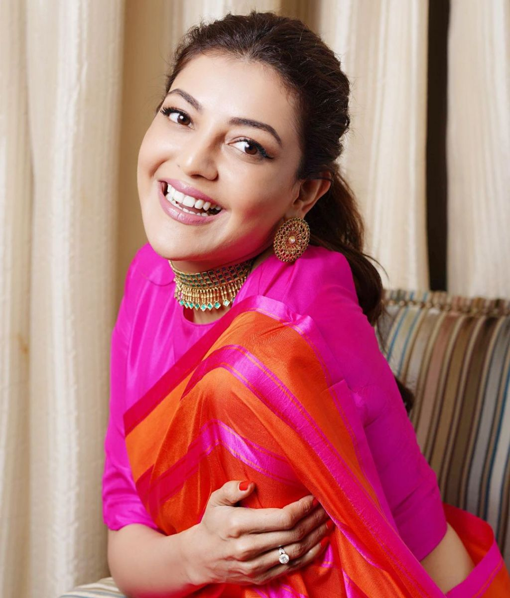 kajal-aggarwal-latest-pattu-saree2