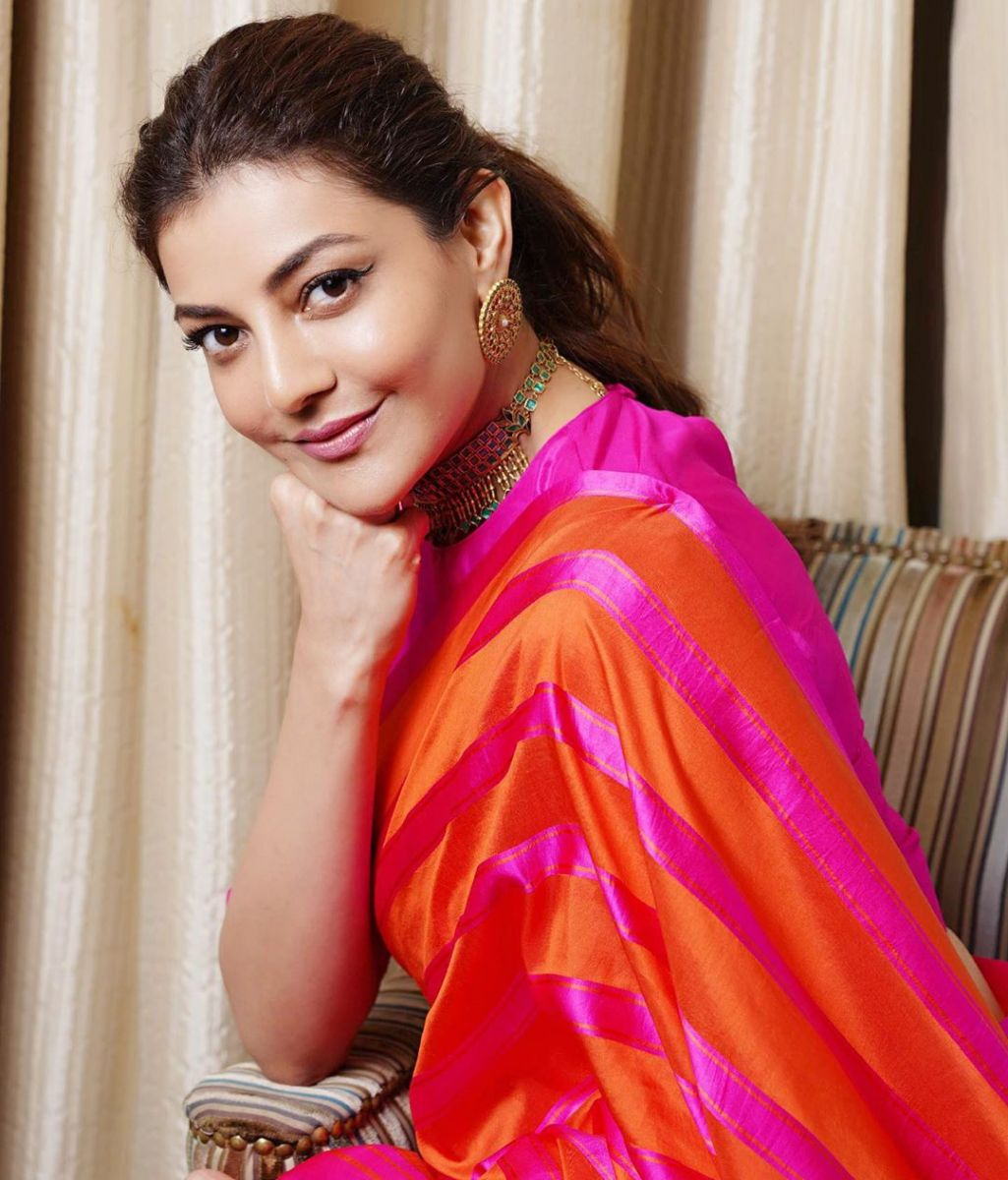 kajal-aggarwal-latest-pattu-saree3