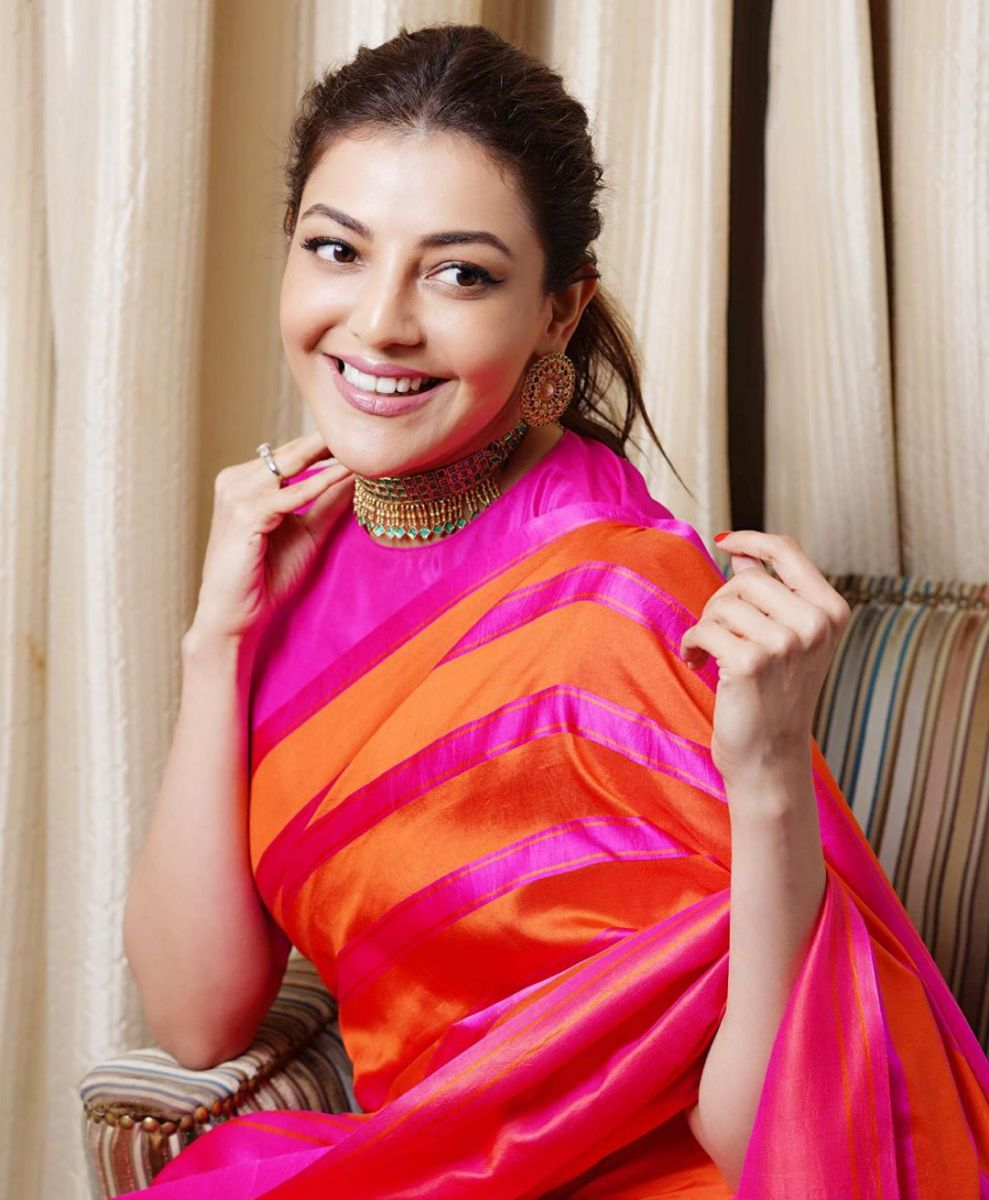 kajal-aggarwal-latest-pattu-saree5