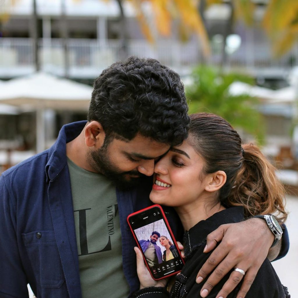 nayanthara and vignesh shivan chirstmas celebration photos going viral