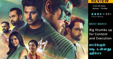 Sivakarthikeyan - hero movie review