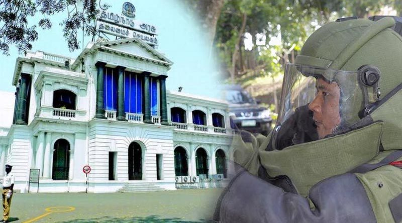 Tamil Nadu Secretariat Bomb Intimidation
