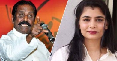 Vairamuthu doctorate degree - Chinmayi tweets