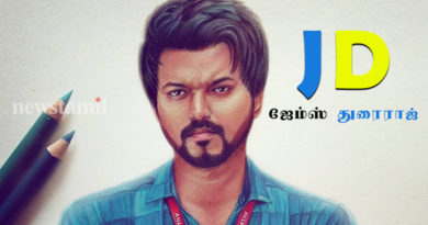 title of thalapathi 64 jd aka james durairaj
