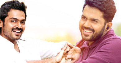 karthi double role in mithran direction