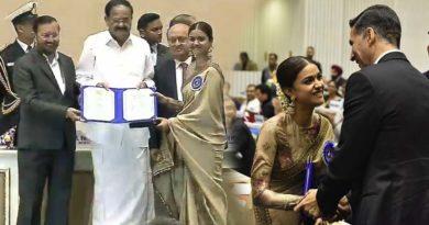 keerthi suresh national award photo