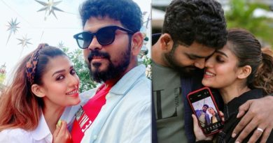 nayanthara celebrates chirstmas with vignesh shivan