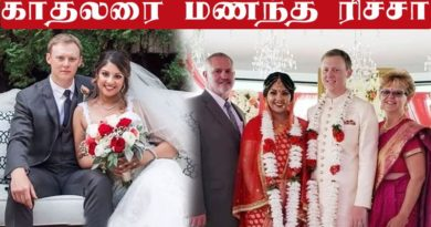 Osthi actress Richa gets married to college friend Joe Langella