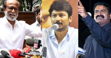 Rajini Controversial Tweet -Seeman, Udayanidhi Condemns!