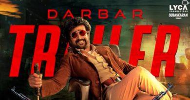 Darbar trailer