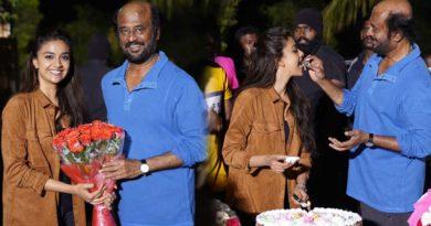 rajinikanth thalaivar 168 congratulates keerthy suresh for winning national award