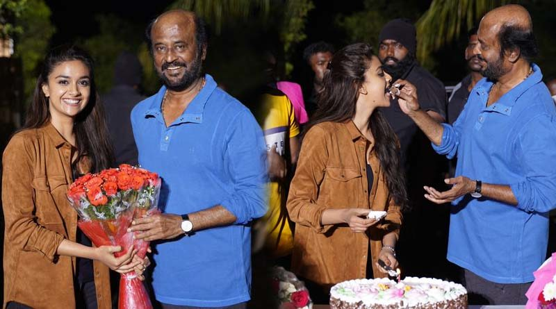 rajinikanth thalaivar 168 congratulates keerthy suresh for winning national award