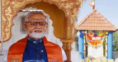 farmer build a temple for modi in trichy