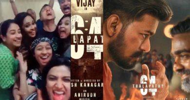 vijay 64 - shooting spot - tik tok video