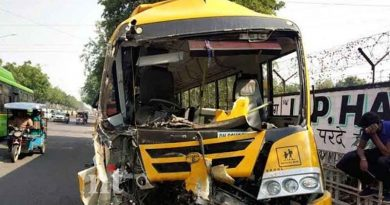 Delhi school bus accident