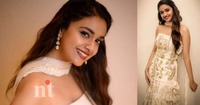 Actress keerthy suresh out maidan movie