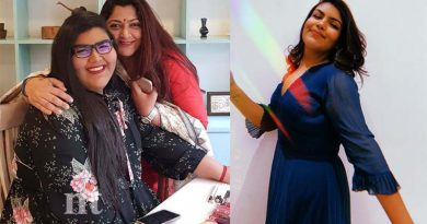 Kushboo daughter Anandita reduced body weight