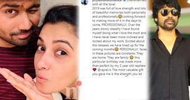 Priya bhavani shankar announced her boy friend