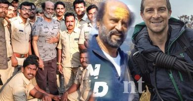 Rajini mild injury in Man vs Wild