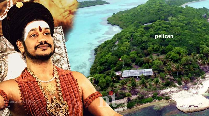 Rape accused Nithyananda founded-in caribbean islands pelican