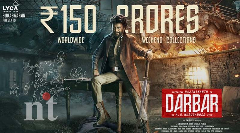 darbar box office collects rs-150-crore lyca official confirmed