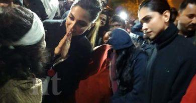 Deepika Padukone Visits JNU
