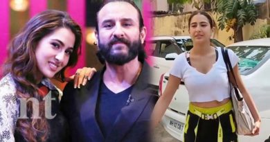 fan trying to kiss saif ali khan daughter
