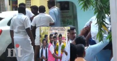 madurai union councilor escapes after takes oath