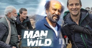 rajinikanth in Man vs Wild TV show