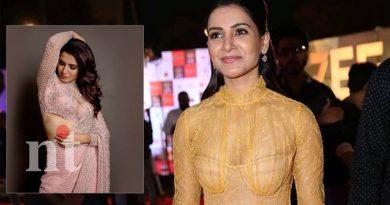 samantha latest glamorous in award function