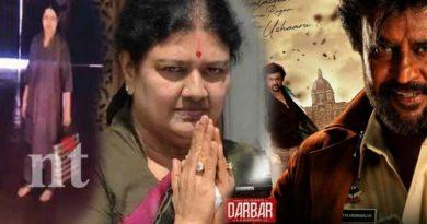 sasikala advocate warns darbar movie director