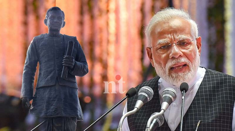 Modi inaugurate 63 feet statue of RSS ideologue Pt Deen Dayal Upadhyay