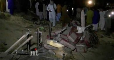 Pakistan train-bus collision 20 dead