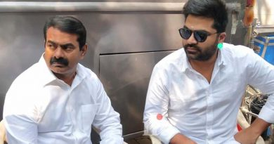Seeman who met Simbu at the Maanadu pooja