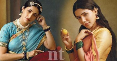 Shruti Samantha Ramya Bring to Life Iconic Raja Ravi Varma Paintings