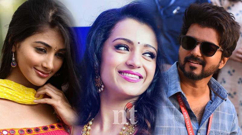 Trisha and Pooja Hejde are teaming up with Vijay 65