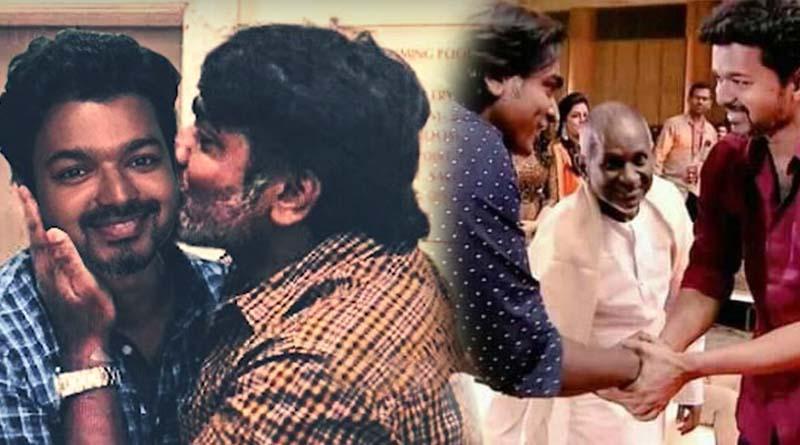 Vijay Sethupathi kissing Vijay