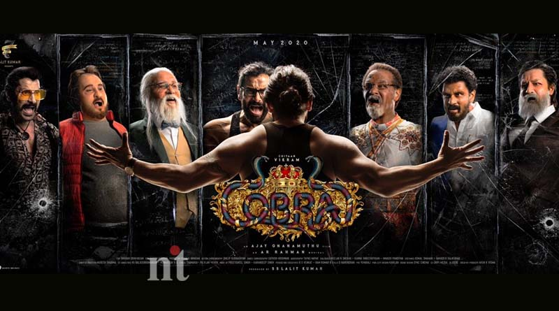 Vikram Cobra First Look Poster