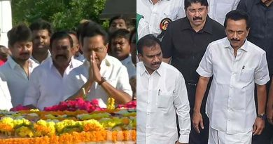 anna memorial death anniversary-dmk mk stalin to hold a silent march
