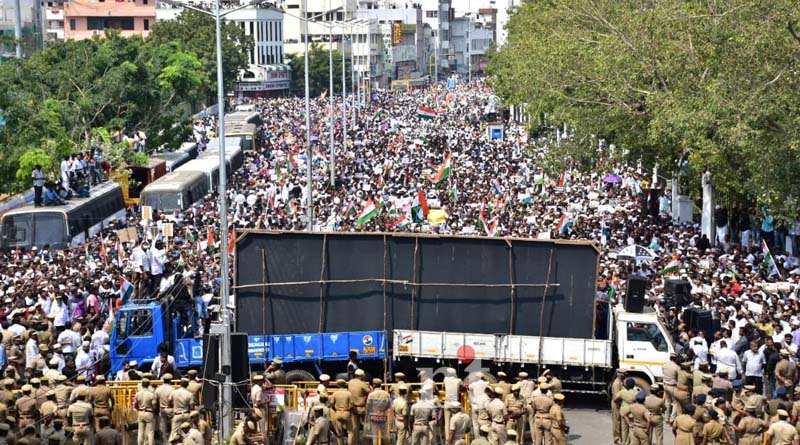 chennai anti caa protest