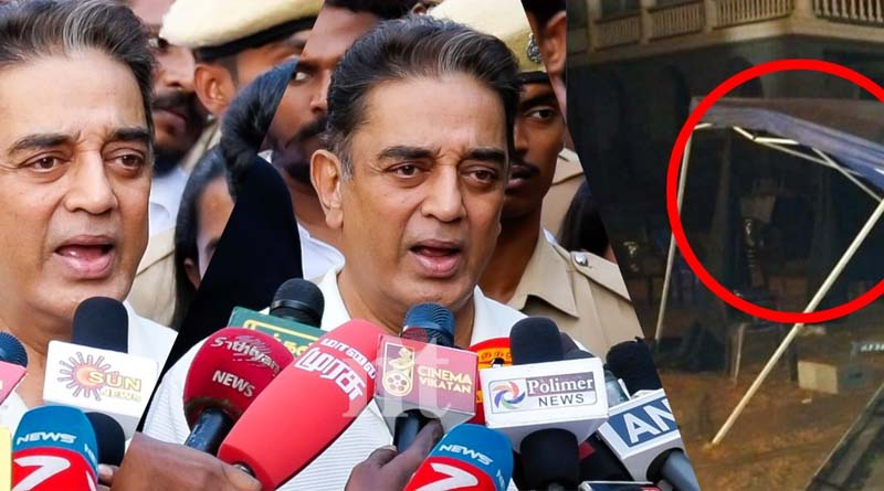 indian 2 accident - We just escaped death - says kamal