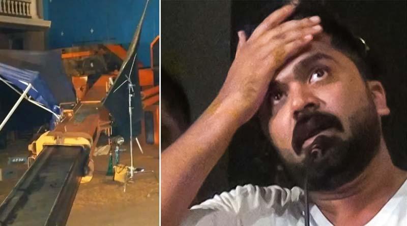 indian 2 accident simbu emotional statement