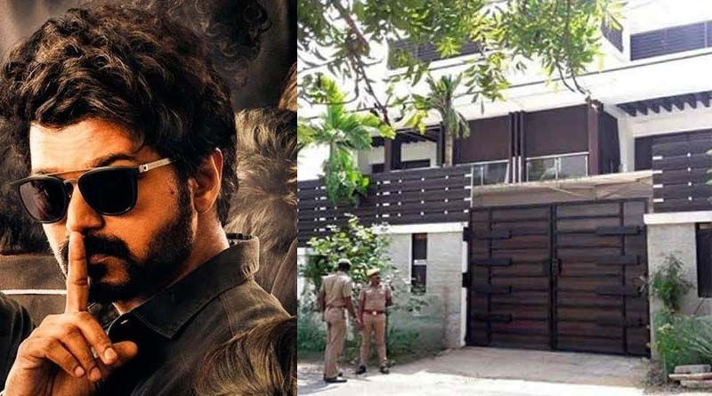 IT Raid on Vijay house