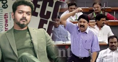 mp dayanidhi maran parliment speech about vijay