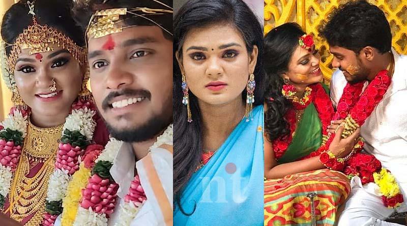 sembaruthi fame actress bharatha-naidu gets married to bharath image