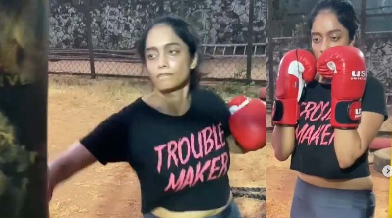 Abirami boxking video