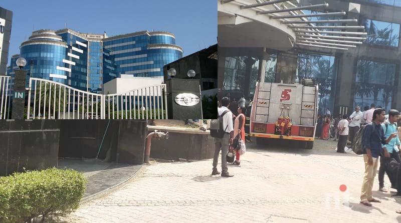 Fire accident in Anna Salai Raheja Towers