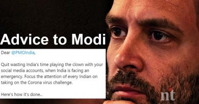 Focus on Corona Virus - Rahul Advice to Modi